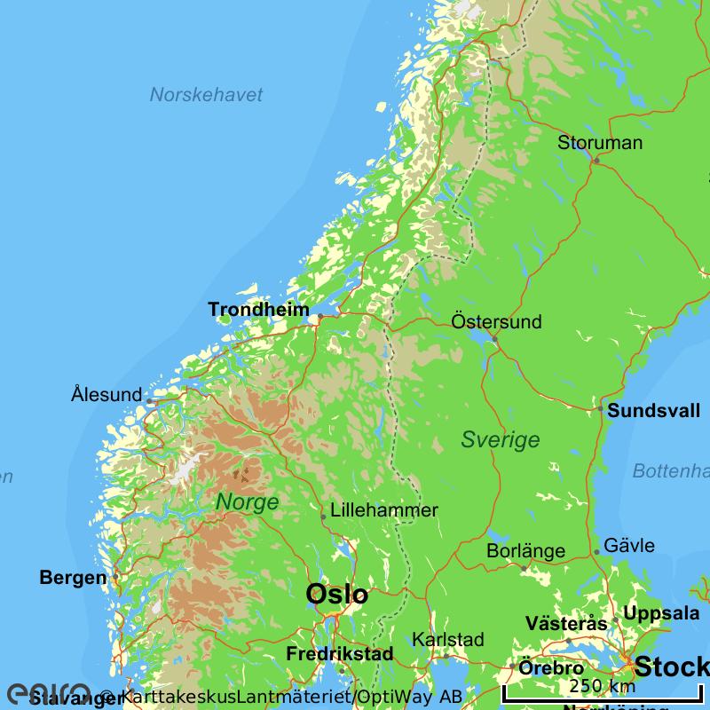 kart kjørerute norge sverige Gule Sider® Kart kart kjørerute norge sverige